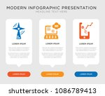 business infographic template... | Shutterstock .eps vector #1086789413