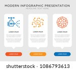 business infographic template... | Shutterstock .eps vector #1086793613