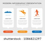 business infographic template... | Shutterstock .eps vector #1086821297