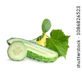 fresh  nutritious  tasty green... | Shutterstock .eps vector #1086826523