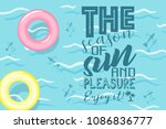 vector image of the sea  the... | Shutterstock .eps vector #1086836777