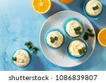 Orange Birthday Cupcake With...