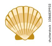 Gold Seashell Vector Graphics ...