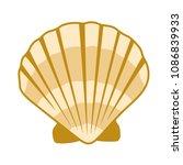 Gold Seashell Vector Graphics ...