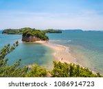 angel road is a popular tourist ... | Shutterstock . vector #1086914723