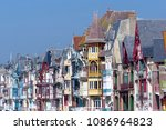 Small photo of Mers-les-Bains seaside town in Picardy coast