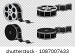 reel film isolated icon   Shutterstock .eps vector #1087007633