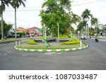 malang  indonesia   february 12 ... | Shutterstock . vector #1087033487