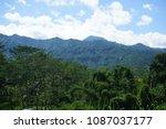 view of malang arjuno mountain | Shutterstock . vector #1087037177
