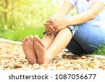 close up of women relaxation... | Shutterstock . vector #1087056677