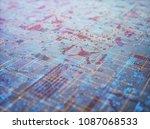 3d illustration. abstract 3d... | Shutterstock . vector #1087068533