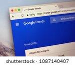 amsterdam  netherlands   may 9  ... | Shutterstock . vector #1087140407