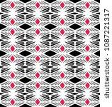 ethnic boho seamless pattern.... | Shutterstock .eps vector #1087221317
