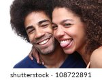 Love couple - stock photo