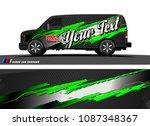 car wrap design vector....   Shutterstock .eps vector #1087348367
