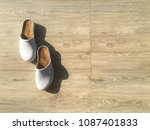 shoes worn after being removed. ... | Shutterstock . vector #1087401833