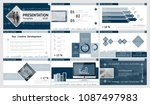 blue  white  gray  elements of...