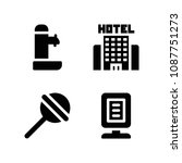 filled other icon set such as... | Shutterstock .eps vector #1087751273