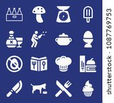 filled food icon set such as...   Shutterstock .eps vector #1087769753