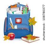back to school  vector... | Shutterstock .eps vector #108780377
