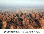 aerial view of mountains in the ... | Shutterstock . vector #1087957733