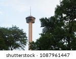 tower of the americas from the... | Shutterstock . vector #1087961447