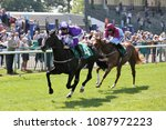 Small photo of 2yo Novice Fastman (IRE) ridden by Daniel Tudhope and trained by David O'Meara makes a winning racecourse debut at Thirsk Races : Thirsk Racecourse, North Yorkshire, UK : 8 May 2018