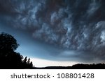 severe weather - stock photo