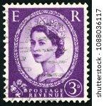 united kingdom   circa 1952 ... | Shutterstock . vector #1088036117