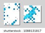 light bluevector background for ... | Shutterstock .eps vector #1088131817