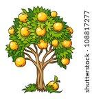 Fruit Tree Vector Illustration...