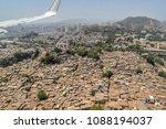 mumbai  may 2018  view of slums ... | Shutterstock . vector #1088194037