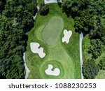 aerial photograph of forest and ... | Shutterstock . vector #1088230253