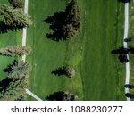 aerial photograph of golf... | Shutterstock . vector #1088230277