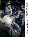 color detail of a vintage... | Shutterstock . vector #1088239043