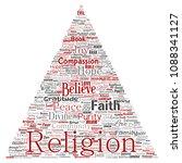 vector conceptual religion  god ...   Shutterstock .eps vector #1088341127