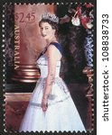 australia   circa 2006  stamp... | Shutterstock . vector #108838733
