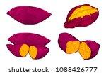yummy sweet potatoes | Shutterstock .eps vector #1088426777