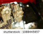 engine part of motorcycle model ...   Shutterstock . vector #1088445857