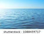 calm ocean water background.... | Shutterstock . vector #1088459717