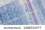 lot of vehicles on parking for ... | Shutterstock . vector #1088532977
