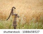 wheat fields landscape | Shutterstock . vector #1088658527