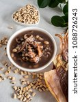rice bean cuttlefish porridge   ... | Shutterstock . vector #1088726243