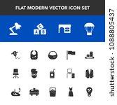 modern  simple vector icon set... | Shutterstock .eps vector #1088805437