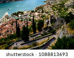 picturesque descent from the...   Shutterstock . vector #1088813693