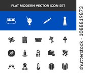 modern  simple vector icon set... | Shutterstock .eps vector #1088819873