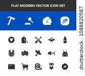 modern  simple vector icon set... | Shutterstock .eps vector #1088820587