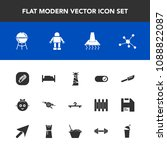 modern  simple vector icon set... | Shutterstock .eps vector #1088822087
