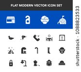 modern  simple vector icon set... | Shutterstock .eps vector #1088823533