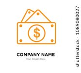 capital expense company logo... | Shutterstock .eps vector #1089080027